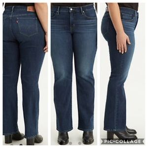 NEW Levi 315 Shaping Bootcut Jeans, size 20 short